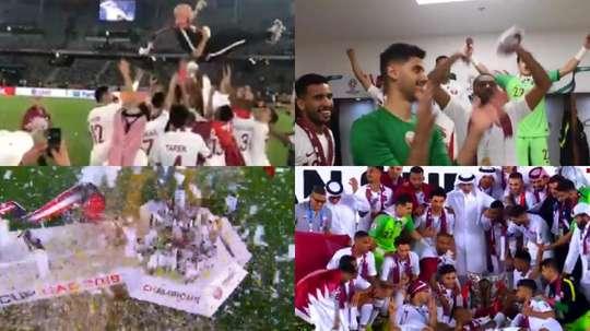Catar se llevó la Copa Asia. Captura