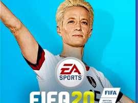 Une pétition lancée pour Rapinoe sur la jaquette de FIFA 20. Twitter
