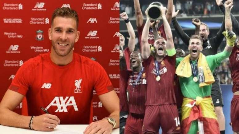 De estar sin equipo a héroe en unos días. Montaje/Liverpool/AFP