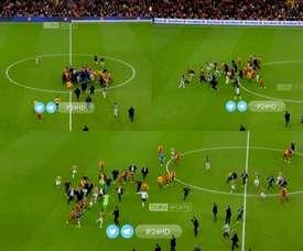 Le match entre Galatasaray et Fenerbahçe a mal fini. Capture/beINSports