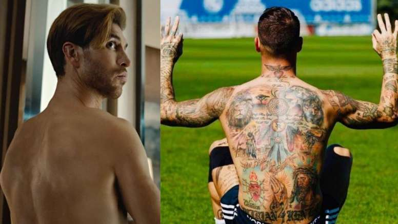 Where Have Sergio Ramos Tattoos Gone Besoccer