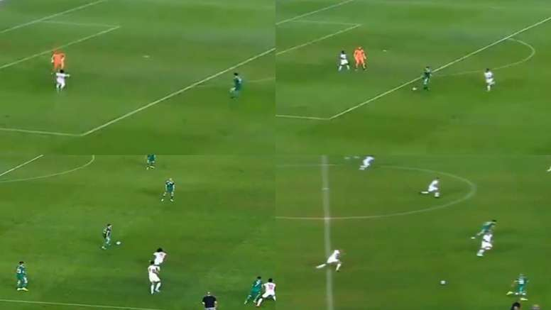 Argelia enseñó al mundo cómo sacar el balón desde atrás. Captura/FAF