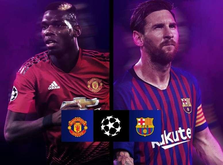 Barcellona-United. UEFAChampionsLeague