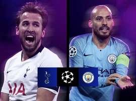 Tottenham-City, duel 100% anglais en Ligue des Champions. UEFAChampionsLeague