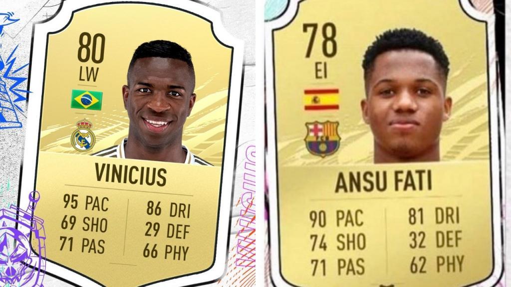 El Debate Madrid Barca Con Vinicius Y Ansu En Fifa 21 Besoccer