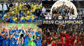 LaLiga domina el mundo de selecciones. EFE/AFP