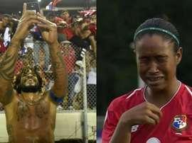 Sonrisas, llantos de emoción... maneras de celebrar algo histórico. AFP/Captura