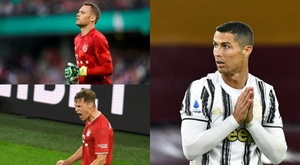 Bayern continua alcançando marcas impressionantes. Montagem/AFP