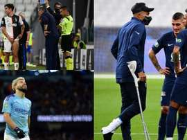 Injuries, the main threat to the Champions League. AFP