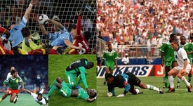 Montage of African teams in the World Cup. BeSoccer