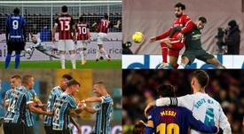 As dez melhores ligas do mundo. EFE/AFP