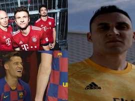 Les cinq joueurs qui ont été vendus après avoir présenté le nouveau maillot. Bayern/RealMadrid/FCB