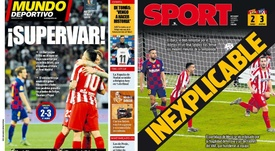 Outrage in the Catalan press after Super Cup VAR controversy. COLLAGE/MundoDeportivo/Sport