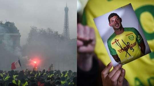 El choque entre Nimes y Angers pasará a un tercer plano. AFP