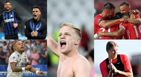 The 'other' interesting matches taking place in the Champions League. Collage/AFP