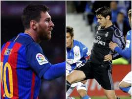 Messi and Morata are decisive for their respective teams. BeSoccer
