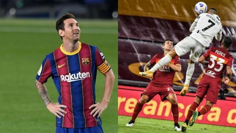 Gracias, Champions: Messi y Cristiano volverán a enfrentarse. EFE - AFP