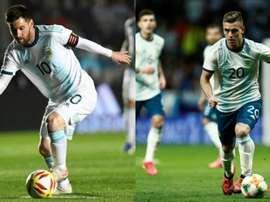 Les deux piliers de la nouvelle Argentine. Montage/EFE
