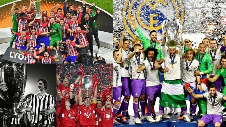 TOP 10 clubs les plus titrés d'Europe. Besoccer