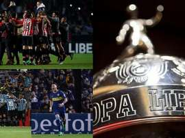 Os times classificados para as oitavas da Libertadores. BeSoccer