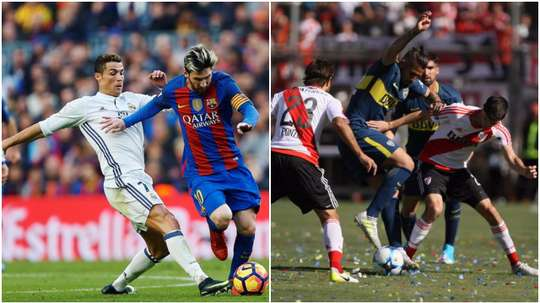 Spain and Argentina have the world's best club rivalries, according to the 'Mirror'. BeSoccer