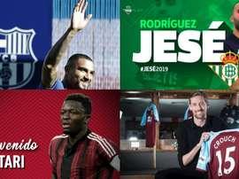 Boateng, Jesé, Muntari et Crouch sont sur cette liste. BeSoccer