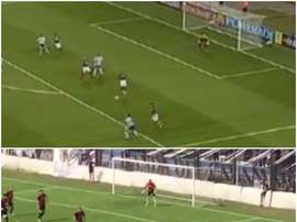 El parecido entre ambos goles es tremendo. BeSoccer