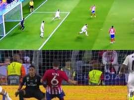 Saúl e Koke deram o título ao Atlético de Madrid. Captura
