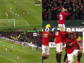 United fait tomber le Derby de Rooney en huit minutes. Montage/FACup/Mat4