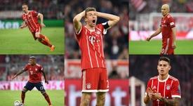 Salidas masivas en el Bayern. BeSoccer