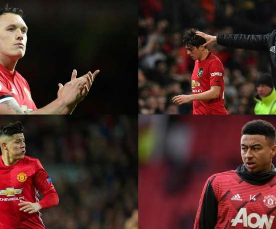 Manchester United could sell these players. AFP/EFE