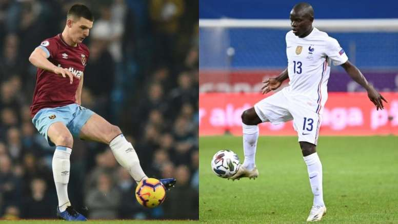 Kanté and Rice could be on the move. AFP