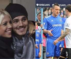 Los romances, también presentes en el fútbol. BeSoccer