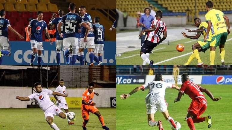 Sigue el directo de la jornada de la Copa Colombia. Montaje/EFE