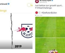 El RB Leipzig contestó a la broma. BlackYellow/RBLeipzig_EN