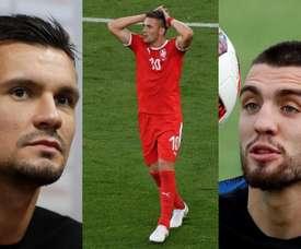 Los tres jugadores facturaron en una empresa suiza. EFE