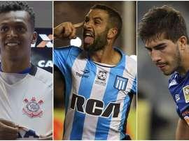 Los mejores jugadores de la Conmebol Sudamericana. BeSoccer
