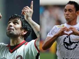 Dos viejos 'rockeros' miden fuerzas en Brasil. Montaje/BeSoccer