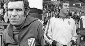 Aragonés pasó de ser jugador a técnico del Atlético de un día para otro. EFE