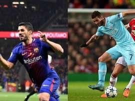Compartirán vestuario en Uruguay y se enfrentarán en Champions. EFE