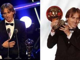 What are the differences between 'The Best' and the Golden Ball? EFE/Yoan Valat