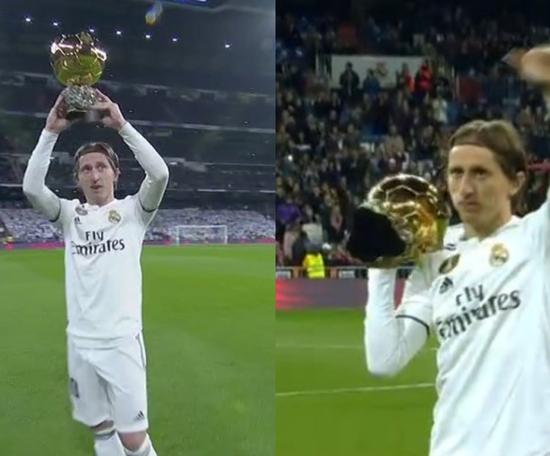 Modric a fait l'unanimité. Capture/beINSports