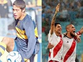 El central se inició en las filas de Boca Juniors. Twitter/JonatanMaidana