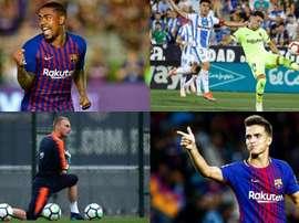 Plusieurs sont ceux qui n'ont pas la confiance de Valverde. AFP/EFE