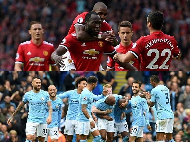 Manchester City currently lie eight points ahead of second-placed United. BeSoccer