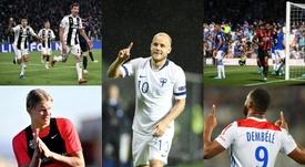 Los 5 'killers' en la agenda del United para callar bocas en Inglaterra. Montaje/AFP/EFE