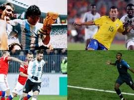 Todos ganaron el Balón de Oro del Mundial Sub 20. AFP/EFE
