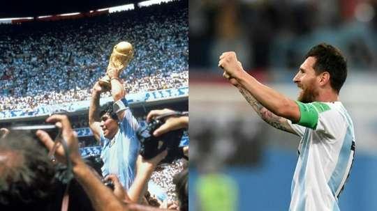 Se reabre el debate después de las declaraciones de Maradona. EFE/Archivo