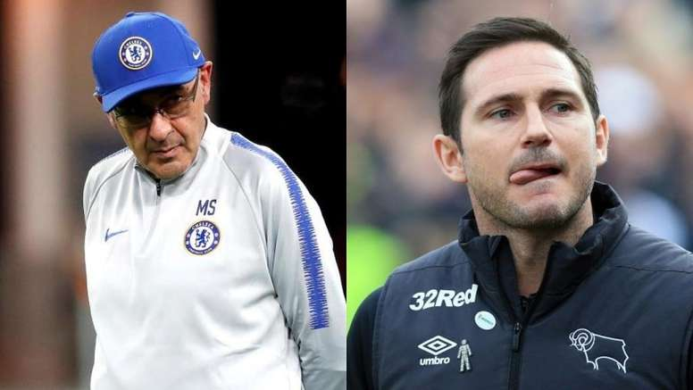 Sarri-Lampard domino effect could be out of the picture. Montage/AFP
