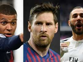 Three players who have had great seasons. AFP